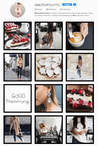 Feed Profissional e Atrativo no Instagram - Beautiful & Yummy