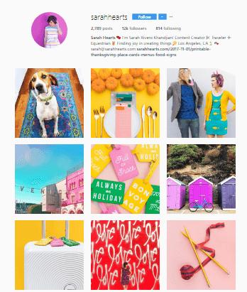 Feed Profissional e Atrativo no Instagram - Colorido