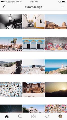 Feed Profissional e Atrativo no Instagram - auroradesign