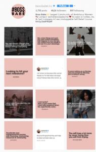 Feed Profissional e Atrativo no Instagram - tabuleiro de damas