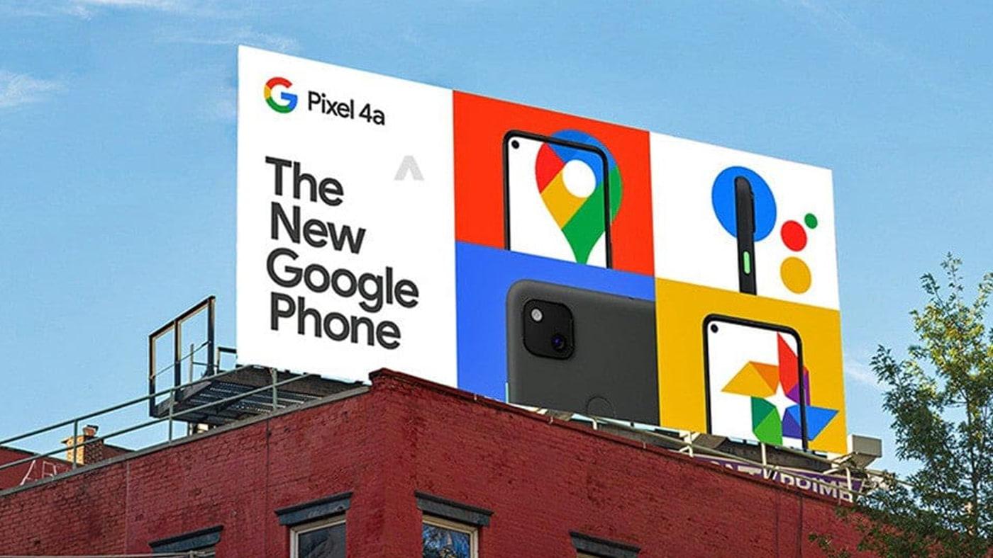 Outdoor Falso Pixel 4A e 4A XL